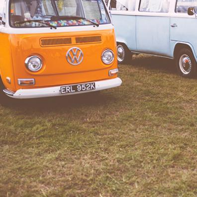 1960s VW camper