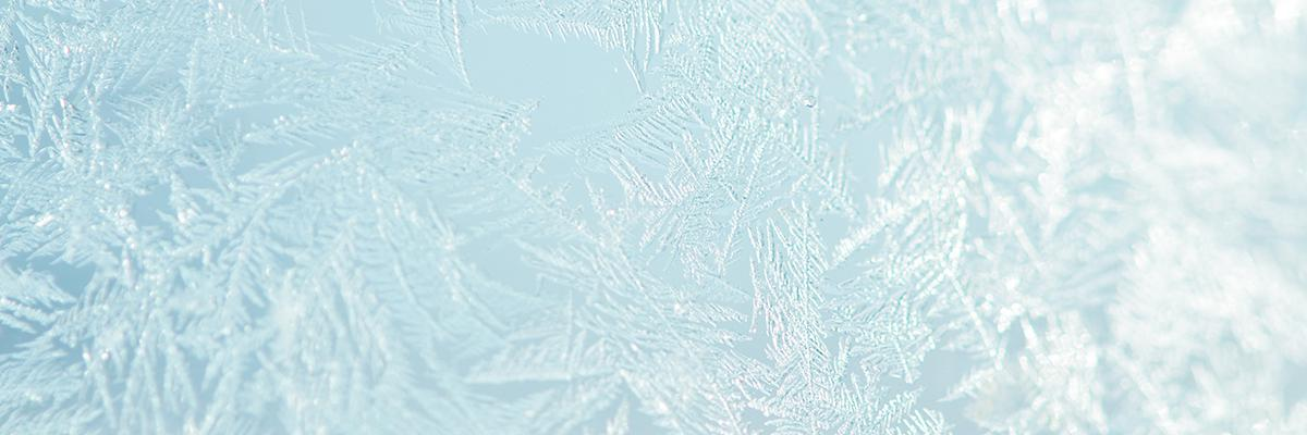 Picture of frost on a van side