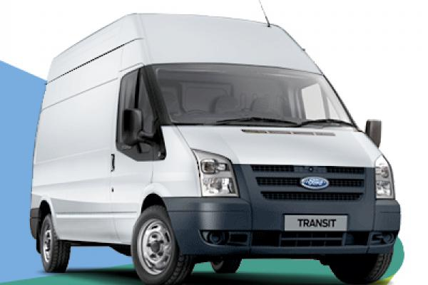 LWB transit van for hire