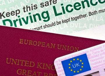 How to check your UK driving license details