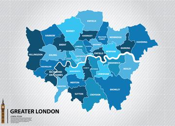 Trucks to hire throughout London covering all of the 33 London Boroughs