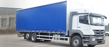 26 Tonne Curtain Side Truck