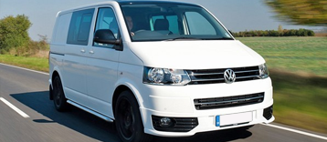 VW SWB 5 Seat Crew Van